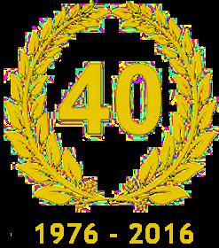 1976 - 2016 40anni di Attività
